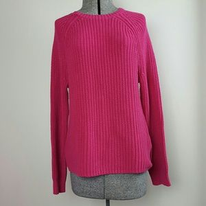 Ralph Lauren Pink Chunky Sweater